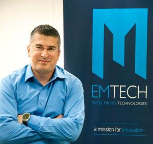 Mr. Nikolaos-Antonios Livanos of EMTECH